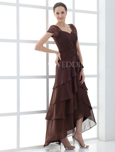 New Mother of the Bride Dresses Tea Length Home Wedding Wedding Party Dresses Mother of the