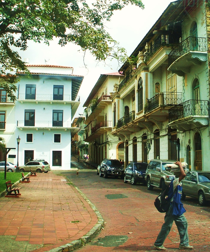 Panama City,Panama(Destination: the World). I have been on the street many times.