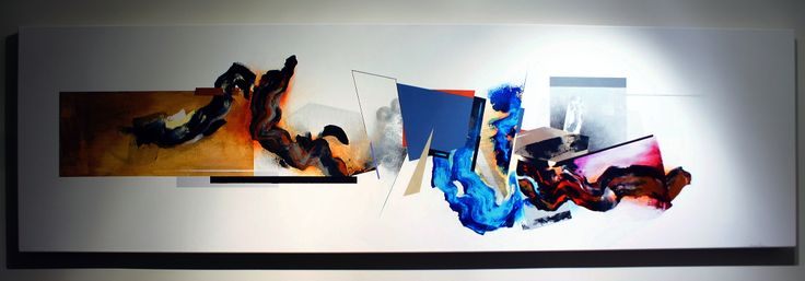 "Abstract painting ""RD"" by Shane Moser www.shanemoser.com"