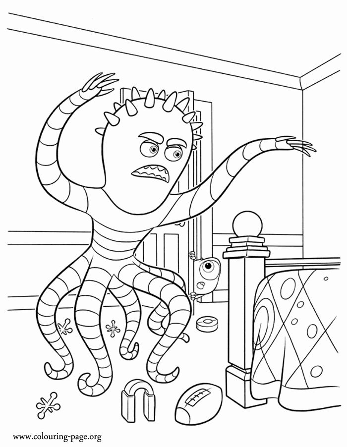 Monster University Coloring Page Best Of Monsters University Mike Observes Frank S Scare Coloring Pages Disney Coloring Pages Dragon Ball Art