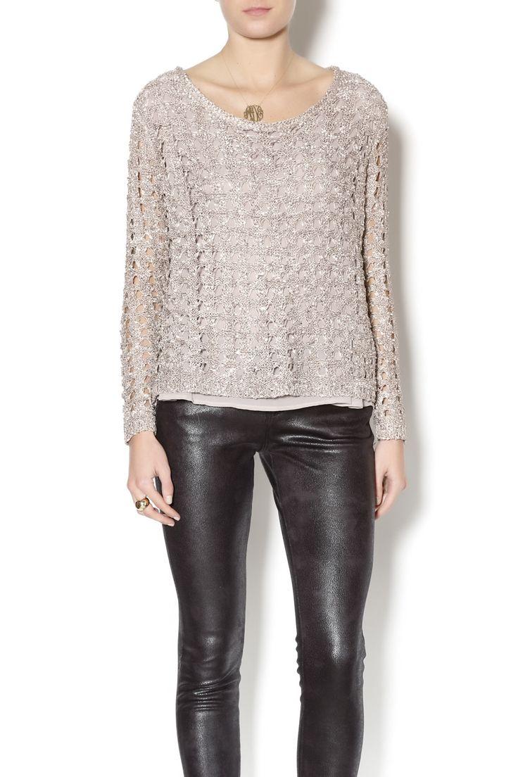 Sassy Sequin Sweater - main