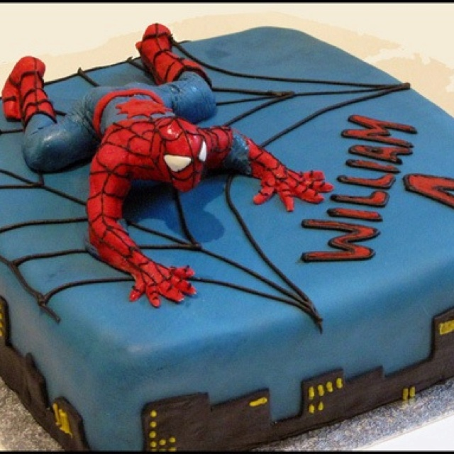 spiderman cake recettes d coration de g teaux et cupcakes pinterest cake and superhero cake. Black Bedroom Furniture Sets. Home Design Ideas