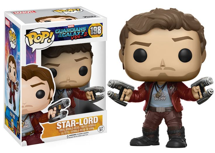 Marvel - MCU - Guardians of the Galaxy Vol. 2 - Unmasked Star Lord - on my wishlist
