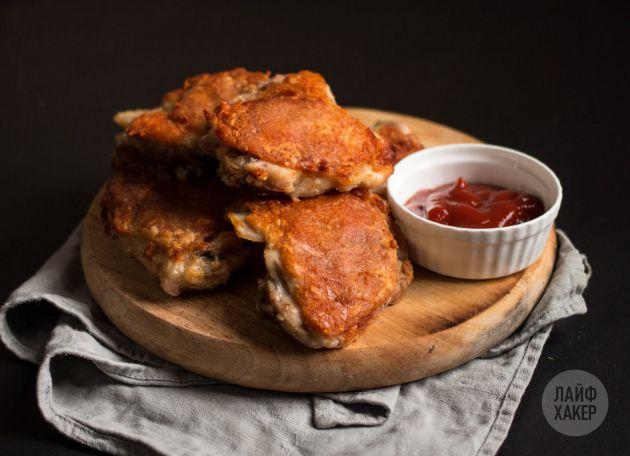 Как зажарить в духовке курицу с хрустящей корочкой - Лайфхакер