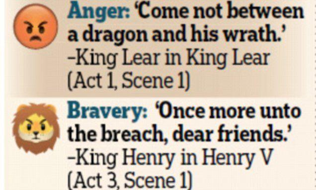 BBC celebrates Shakespeare...with emoji website!