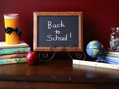 Back to School decorations