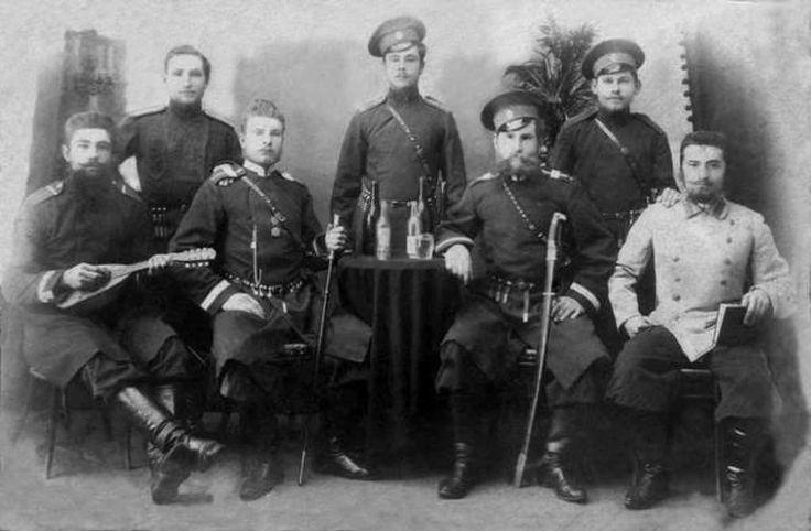 Старые фотографии казаков