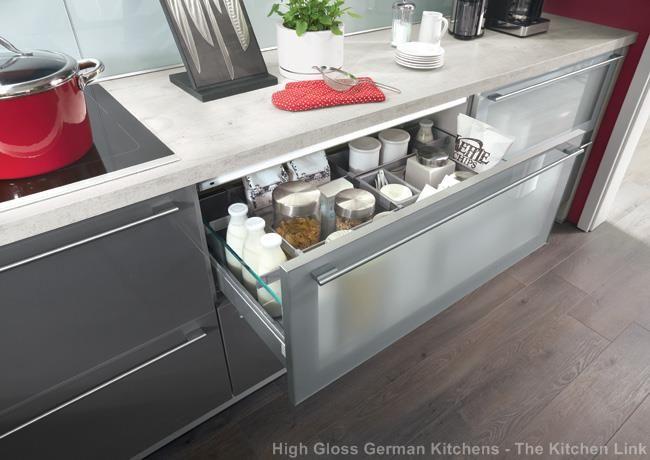 Xeno anthracite ultra high gloss kitchen