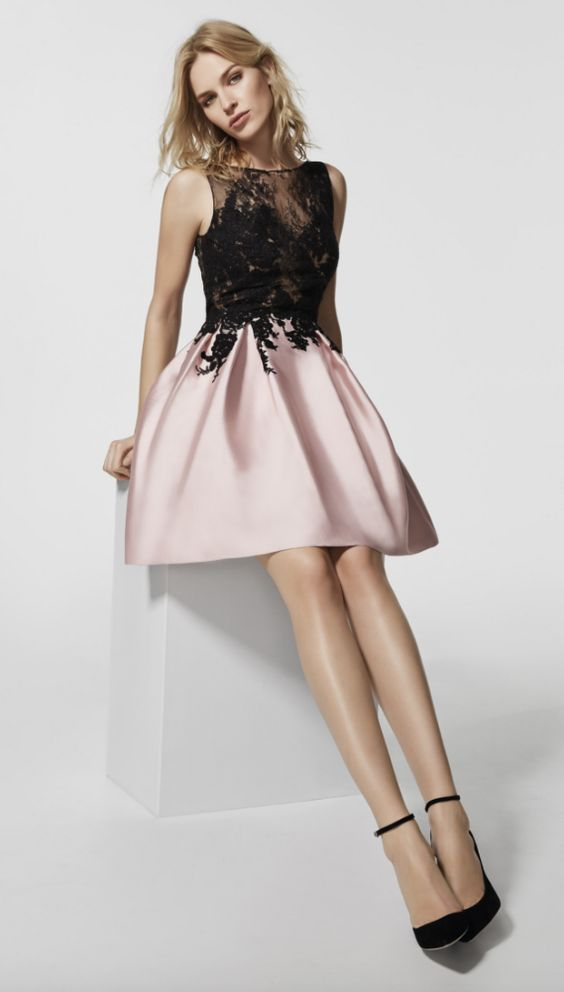 Featured Dress: Pronovias; Evening dress idea.