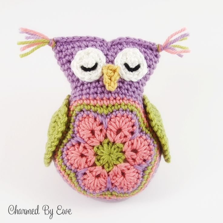 1000+ images about crochet - owls on Pinterest Owl ...