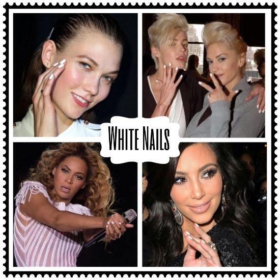 White Nail Polish Trend: 1000+ Ideas About White Nail Polish On Pinterest