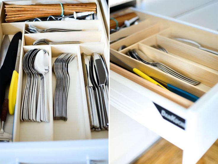 DIY Besteckkasten aus Holz für ordentliche Schubladen