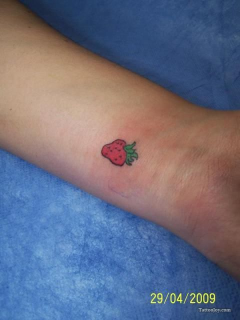 The leaves part on top of my strawberry birthmark.