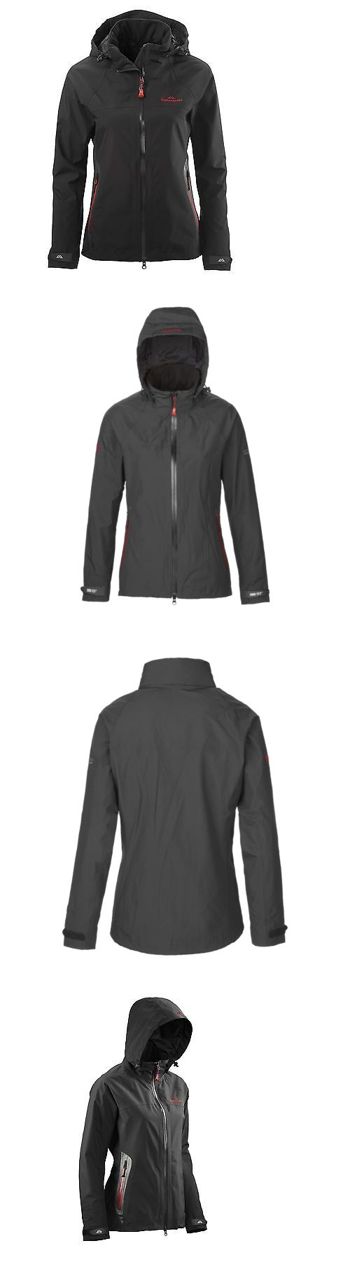 Coats and Jackets 181365: Kathmandu Blackburn Womens Gore Tex 2 Layer Waterproof Hooded Jacket Black BUY IT NOW ONLY: $299.99