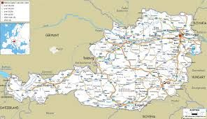 austria map - Google Search