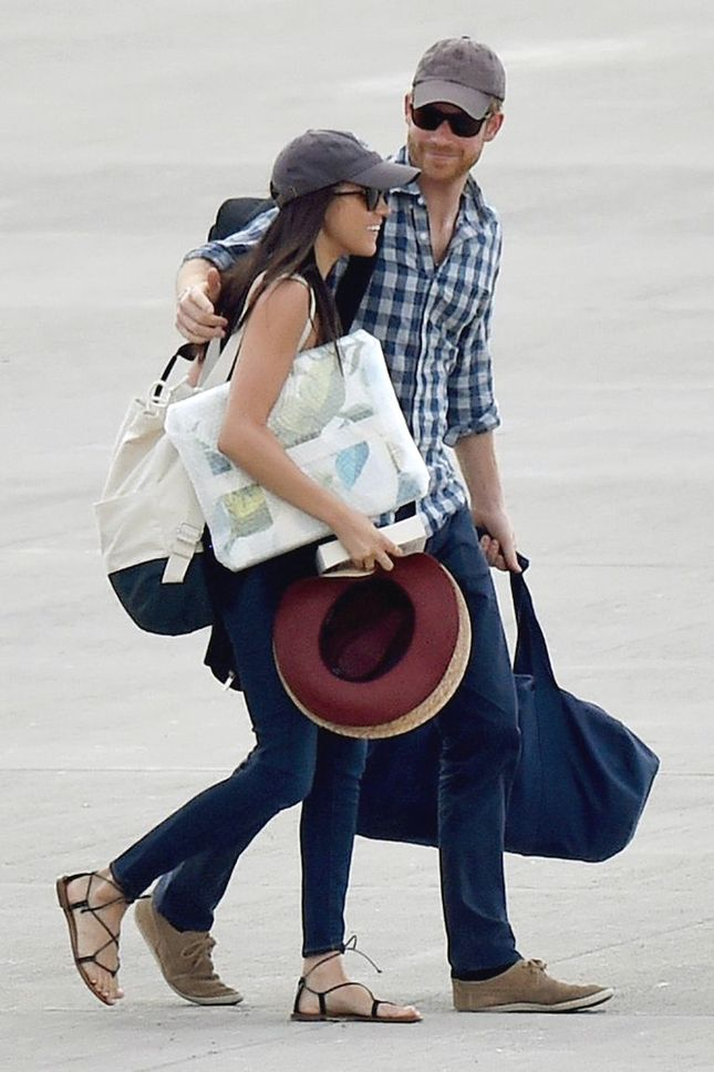 Меган Маркл и принц Гарри в Ботсване