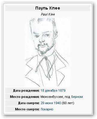 Paul Klee/ Пауль Клее.