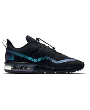 4a97e0d30b5 NIKE MEN S AIR MAX SEQUENT 4 SHIELD RUNNING SNEAKERS FROM FINISH LINE.  nike