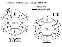 Resultado de imagem para hexagon explosion box template
