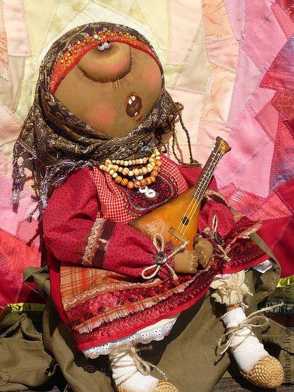 Ишь,артистка! - примитивная кукла,примитивы,текстильная кукла,текстильные…