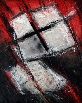 """Croce"" Pittura su tavola"