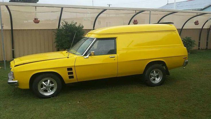 Sweet Holden Panelvan