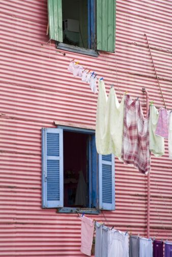 High-Res Stock Photography: Houses in La Boca District Buenos Aires…