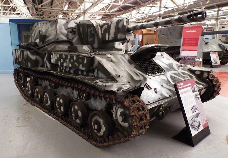 Soviet SU-76M Light Mechanised Gun 1942-58 Tank Museum Bovington