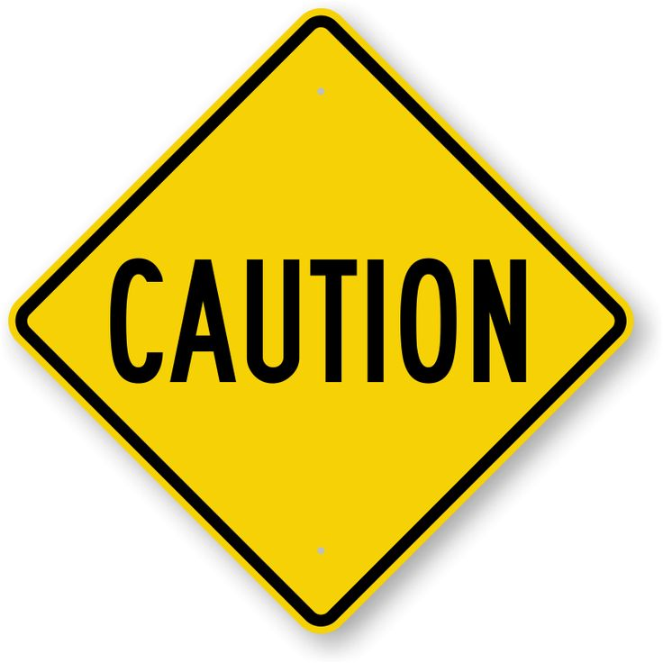 Caution Signs | Free Downloadable PDF's or Durable Factory Direct - ClipArt Best - ClipArt Best