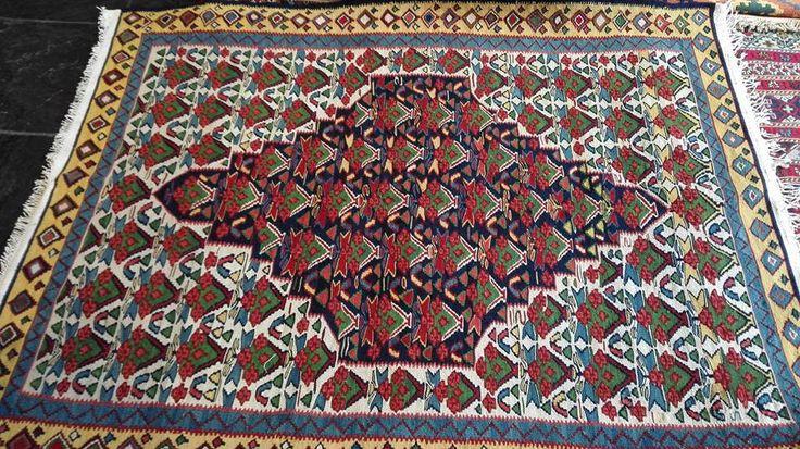 Persian/iran  (bidjar) kilim by persiansouvenir on Etsy