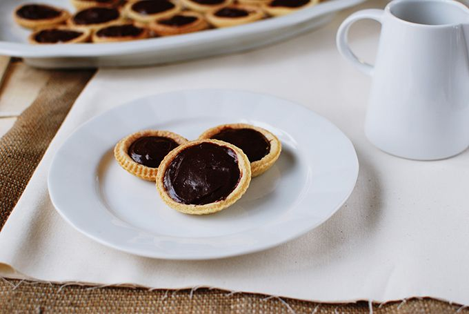 FoodLover: Čokoládové tartaletky