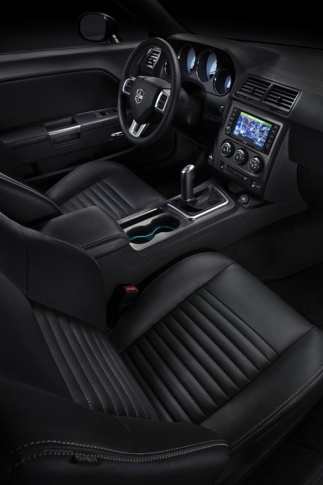 2013 Dodge Challenger interior...