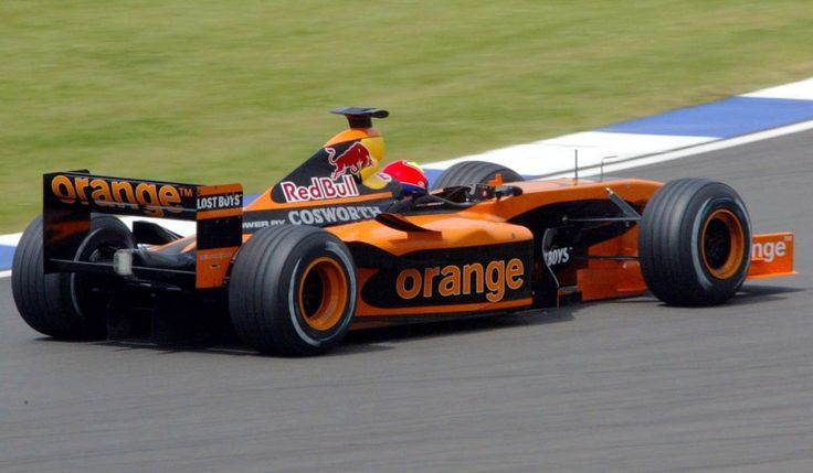 orange arrows f1 car in photo by photographer alan victor race cars. Black Bedroom Furniture Sets. Home Design Ideas