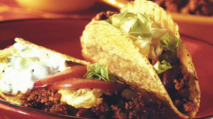 Quorn Mince Chilli Tacos