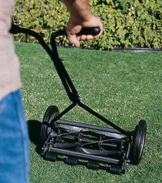Old fashioned push mower for sale 97