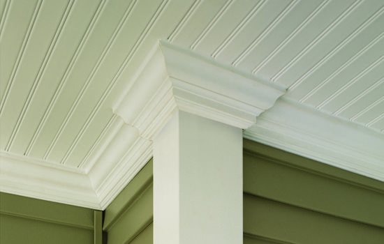 69 best images about exterior horizontal vinyl siding accent panels on pinterest vinyls for Exterior beadboard porch ceiling