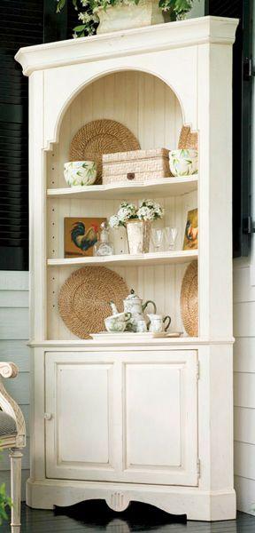 31 best corner hutch decor images on pinterest