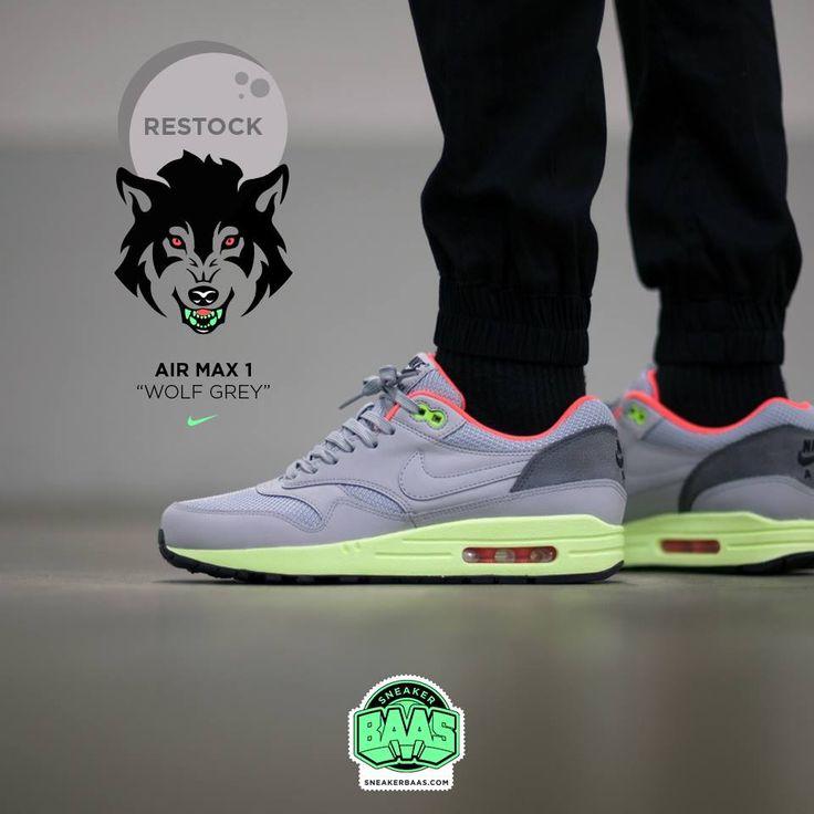 #nike #airmaxone #wolfgrey #sneakerbaas #baasbovenbaas #yeezy Nike Air Max  One