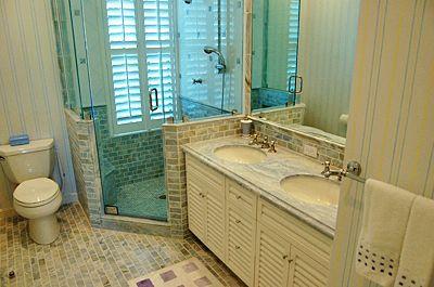 Beige And Aqua Bathroom Home Decor Bathrooms Pinterest