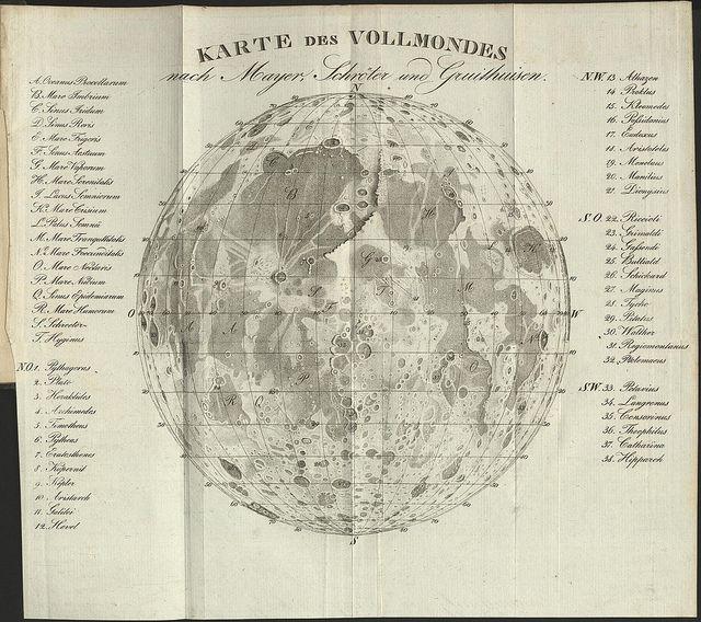 1829 Moon Map