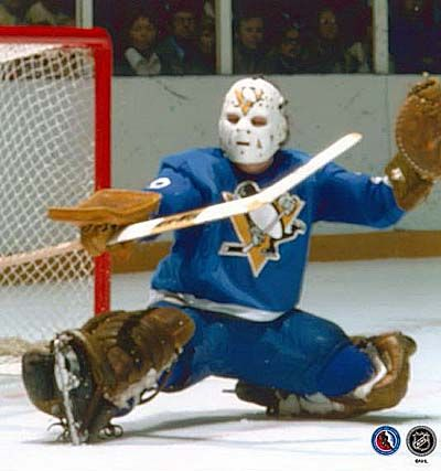 Gary Inness, Pens goalie in the mid-70s, and my favorite player at the time!