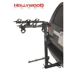 """Hollywood Racks Road Runner 3 Bike Rack for 2"""" Hitch with Extended Spare Tire Clearance"""