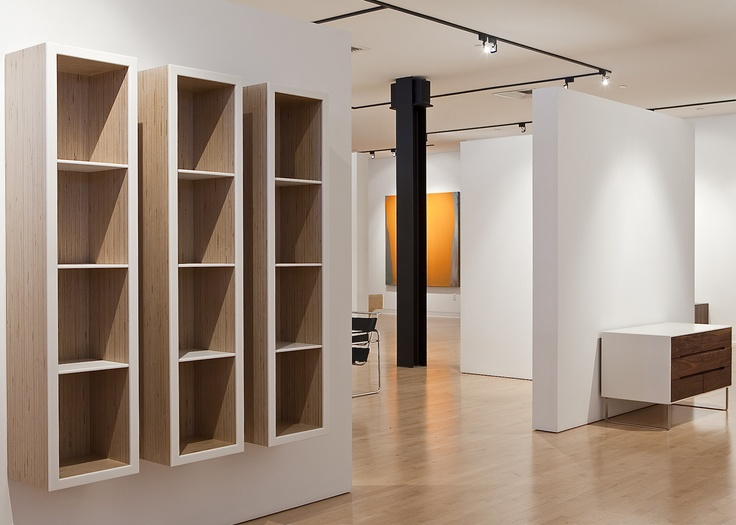 Book Shelves Fabricated From Baltic Birch Plywood And