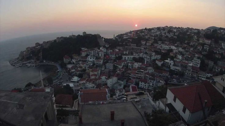 GOPRO SUNSET AND CITY POWER OUTAGE TIME LAPSE HD