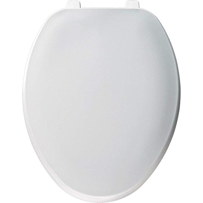 Church 170tl 000 Elongated Plastic Toilet Seat With Cover White