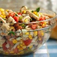 salata pui cu porumb