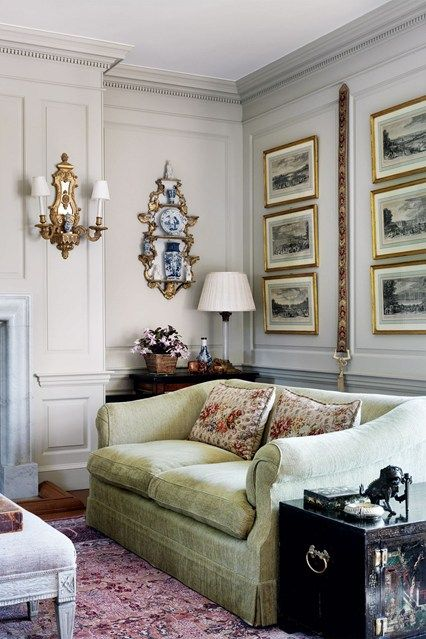 Antique Paint Colour Scheme   Living Room Design Ideas  (houseandgarden.co.uk)