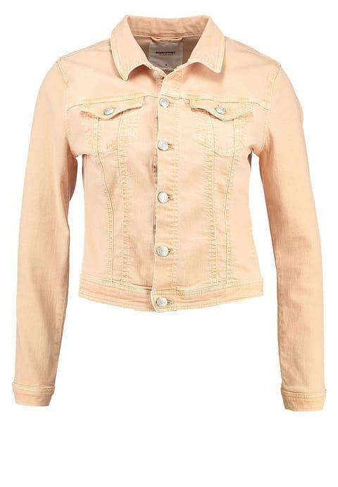 Soyaconcept JINX - Spijkerjas - pale apricot - Zalando.nl pastel orange pastel oranje jacket jeans spijkerstof denim