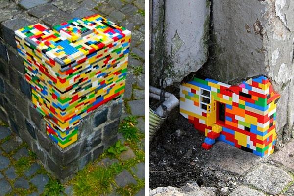 Lego art wall