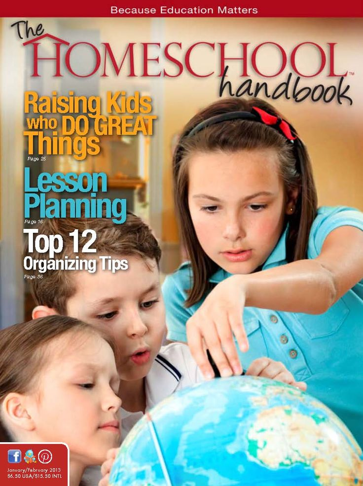 The Homeschool Handbook Magazine {free online to view or download}